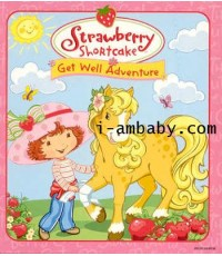 Strawberry Shortcake:Get Well Adventure 1 DVD(Sound eng. /sub-eng.)