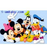 MICKEY AND FRIENDS มิกกี้และเหล่าผองเพื่อน Collection DVD 7 IN 1 Vol.1-2=2 DVD พากย์ไทย