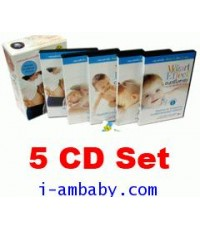 The Mozart Effect Music for Babies Series (for Mom and Kid upto 3 year 5 CD Set