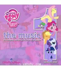 My Little Pony Friendship is Magic Season 1 [Original Soundtrack] Audio CD 1 CD