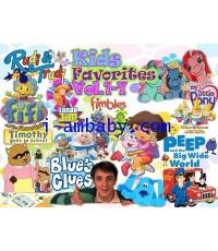Kids Favorites (พากย์ไทย) ชุด 7 DVD