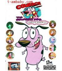 Courage The Cowardly Dog Season 1-4 ชุด 4 DVD [Soundtrack]เสียงอังกฤษ- ไม่มีซับ