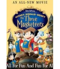 Mickey Donald Goofy The Three Musketeers มิกกี้เมาท์ สามทหารเสือ 1 DVD [เสียง-ซับไทย/อังกฤษ]