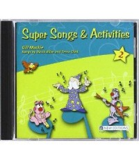 [MP3] Super Songs and Activities 2 (MP3+E-Book) CD 1 แผ่น
