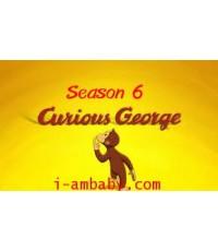 Curious George TV Series Season 6  ชุด 2 DVD [Soundtrack]เสียงอังกฤษ- ไม่มีซับ