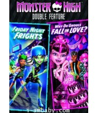 Monster High Double Feature-Friday Night Frights/Why Do Ghouls Fall in Love 1 DVD [Soundtrack]