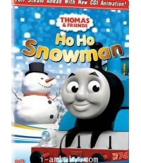 Thomas and Friends Ho Ho Snowman โธมัสยอดหัวรถจักรตอน โฮ โฮ สโนว์แมน1 DVD[เสียง-ซับไทย/อังกฤษ]