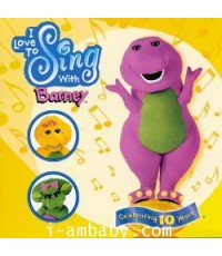 [Audio CD] I Love to Sing with Barney 1 CD