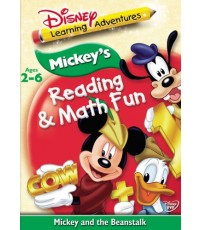 Disney\'s Learning Adventures-Mickey\'s Reading Math and Fun-Mickey and the Beanstalk(2005)-1DVD