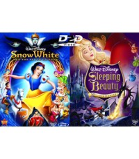 Snow White and the Seven Dwarfs, Sleeping Beauty 2 in 1 HD2DVD 1 Disc