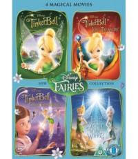 Tinker Bell Quadrilogy [2008-2012] HD2DVD 2Discs