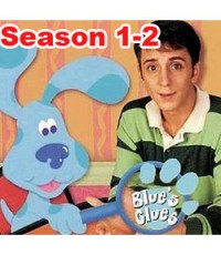 Blue\'s Clues Complete Season 1-2 [Sound-English] 4 Discs