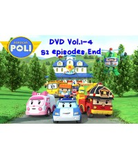 Robocar POLI Vol.1-4 End[Sound-Thai]