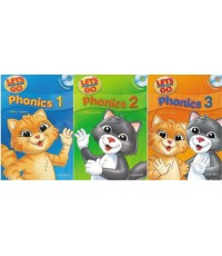 Oxford - Let\'s go Phonics 1-3 with MP3 +E-Book [1 CD 50 Baht]
