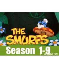 The Smurfs [1981-1990] Complete Season 1-9 [Sound-English] 32 Discs