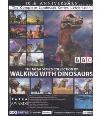 Mega Series Collection Of Walking With Dinosaurs 4 Discs [Sound-English,Thai / Sub-English,Thai]