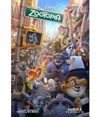 Zootopia (2016) พากย์ไทย-อังกฤษ/ บรรยายไทย-อังกฤษ 1 Disc