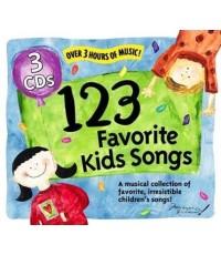 [MP3] 123 Favorite Kids Songs เพลงภาษาอังกฤษสำหรับเด็ก 1 CD