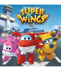 Super Wings complete 52 eps.(Sound-English) 4 Discs