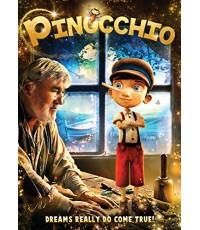 Pinocchio (2016) พิน็อคคิโอ [พากย์ไทย,อังกฤษ/บรรยายไทย,อังกฤษ] 1 Disc