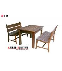 AT-040 ขุดโต๊ะ และเก้าอี้สนาม