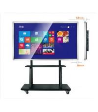 ป้ายโฆษณาแบบมีขาตั้ง จอ LCD ขนาด 32,42,46,50,55,58,65,70,84 นิ้ว (รุ่นมีขาตั้งสามารถเคลื่อนย้ายได้)