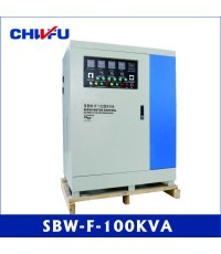 Voltage regulator Approved 100KVA SBW series three phase compensated separated adjustable
