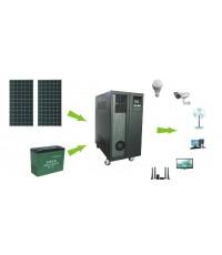 รับติดตั้งโซล่ารูฟท็อป ขนาด 10KW สำหรับบ้านพักอาศัยทั่วไป (Solar PV Roof Top)