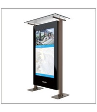 kiosk led display 70/75inch Bigger, Better, Brighter. Bursting With Colors