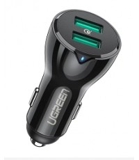 36W 2 Ports USB 3.0 Fast Car Charger