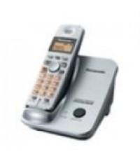 โทรศัพท์ Panasonic โทรศัพท์ไร้สาย 2.4 GHz GIGARANGE DIGITAL รุ่น KX-TG3521BX ( สีดำ )