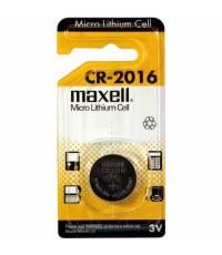ถ่านกระดุม Maxell CR2016 แพค 2 ก้อน