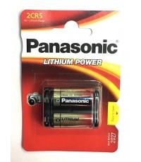 ถ่านกล้องถ่ายรูป Panasonic 2CR5 6V  ของแท้