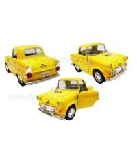 รถฟอร์ด Ford ปี 1955 \quot;สีเหลือง\quot; ประตูซ้ายขวาเปิดได้ แบบรถ คลาสสิค  4