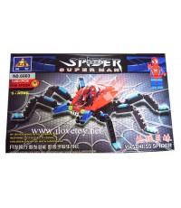 """เลโก้ Lego ตัวต่อพาสติก ชุด \"""" Vastness Spiderman \"""" 126 ชิ้น งานสวยมากๆ"""