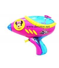 ปืนฉีดน้ำมิกกี้เม้าท์ สีสวย ลายน่ารัก ต้อนรับสงกรานต์ คละสี บรรจุ 6 อัน