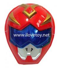 หน้ากากพลาสติก มียางรัด  Power Ranger พาวเวอร์เรนเจอร์