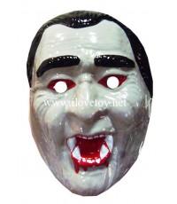 หน้ากากพลาสติก แดร็กคิวล่า Draculaman  มียางรัด