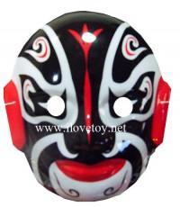 หน้ากากพลาสติก Plastic Mask หน้ากากงิ้ว มียางรัด