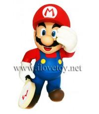 โมเดล มาริโอ้ [เทนนิส] Mario Super Mario Bros. สูง 30 ซ.ม.  วัสดุ Soft Vinyl