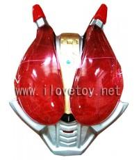 หน้ากากพลาสติก Plastic Mask มียางรัด