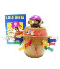 [ขนาดเล็ก] ถังโจรสลัด Black Bead Doll Lucky Stab Game