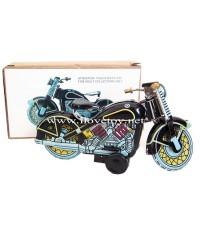 ของเล่นสังกะสี Tintoy รถมอเตอร์ไซค์ ไขลาน วิ่งได้ มี 2 สี