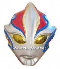 หน้ากากพลาสติก Plastic Mask หน้ากากอุลตร้าแมน Ultraman มียางรัด