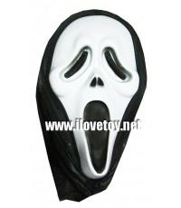 หน้ากากหวีด [ไม่มีเลือด] สำหรับงานปาร์ตี้ ฮาโลวีน Halloween แฟนซี
