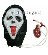 หน้ากากหวีด [มีเลือด] *แลบลิ้น* สำหรับงานปาร์ตี้ ฮาโลวีน Halloween แฟนซี