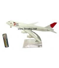 โมเดล Die Cast เครื่องบินเหล็กทั้งลำ เครื่องบินพาณิชย์ Japan Airline เจแปน แอร์ไลน์ ตั้งโชว์