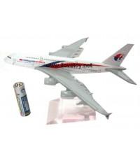 โมเดล Die Cast เครื่องบินเหล็กทั้งลำ เครื่องบินพาณิชย์ Malaysia Airline มาเลเซีย แอร์ไลน์ ตั้งโชว์