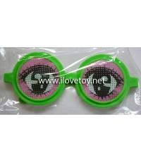 แว่นตาแฟนซี บรรจุ 12 ชิ้น คละสี คละแบบ คละลาย