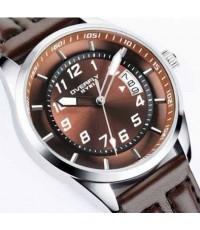 นาฬิกาข้อมือชาย EYKI รุ่น OVERFLY ซีรี่  ระบบQuartz รุ่นใหม่สีน้ำตาลสวย
